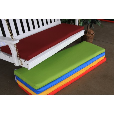 6' Bench / Porch Swing / Glider Outdoor Cushion - Assortment