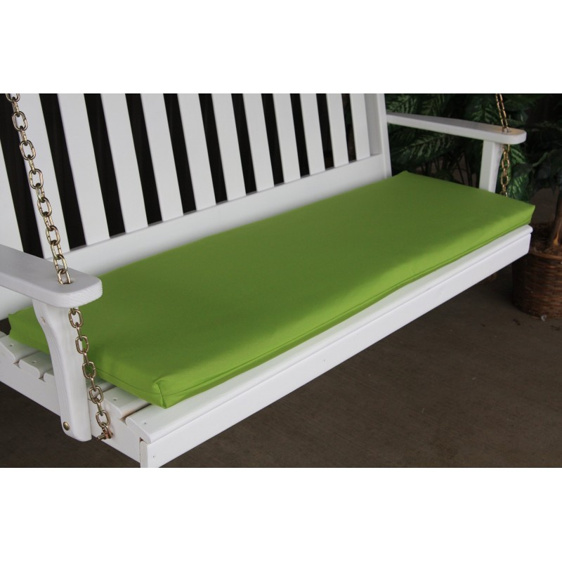 5 ft Bench Swing Glider Outdoor Cushion Furniture