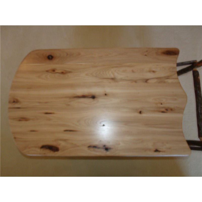 Sleigh Coffee Table Part - 42: ... Rustic Hickory Sleigh Coffee Table - Hickory U0026 Oak Or All Hickory ...