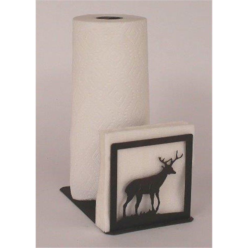 wrought iron deer collection paper towel napkin holders - Napkin Holders