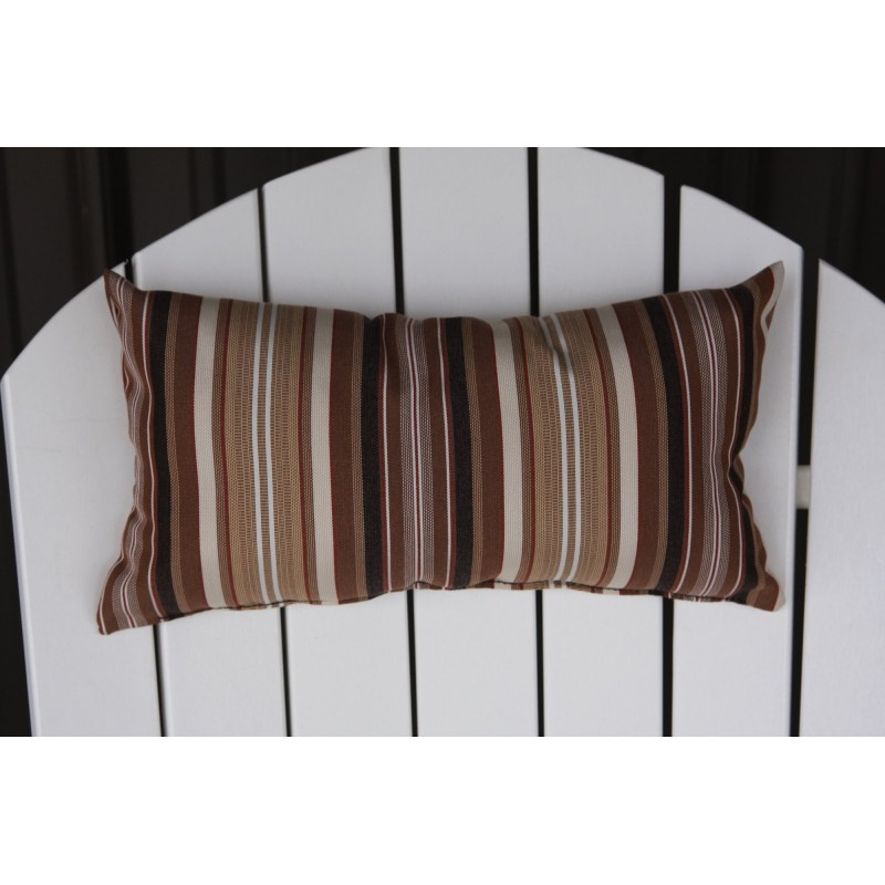 Adirondack chair outdoor head pillow furniture barn usa for Chair pillow