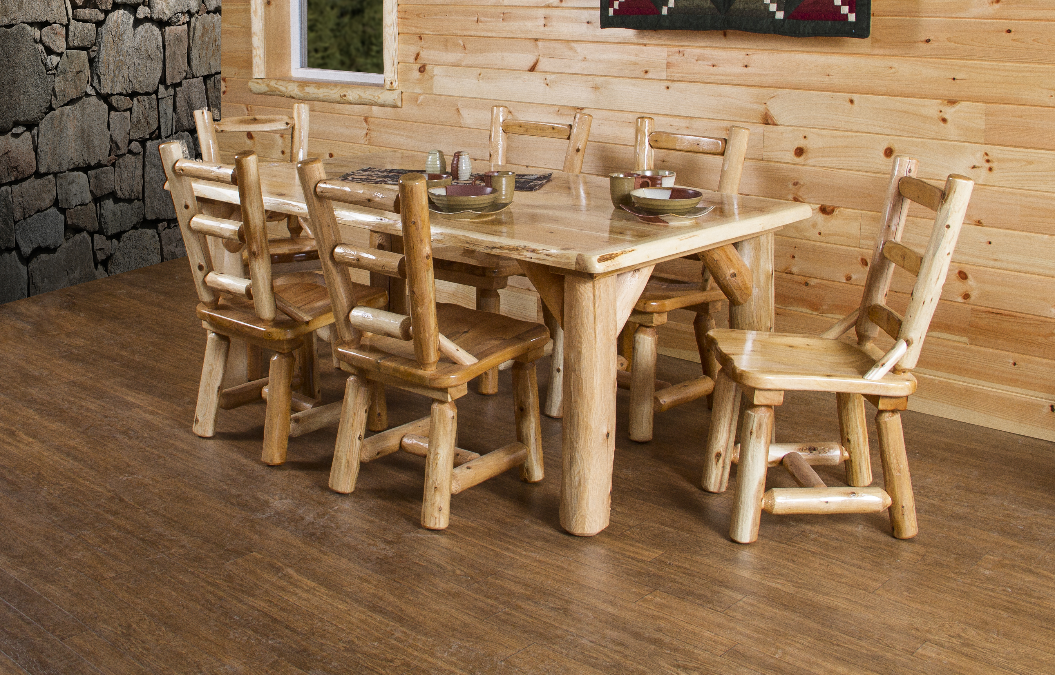White Cedar Dining Set
