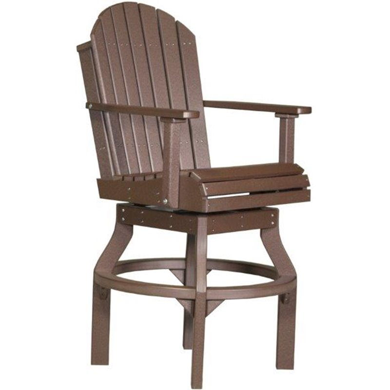 Counter Height Adirondack Chairs : ... poly-outdoor-adirondack-swivel-chairs-dining-counter-or-bar-height.jpg