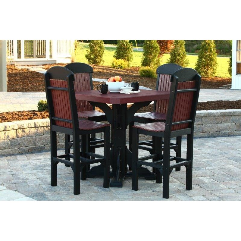 Poly quot square table set
