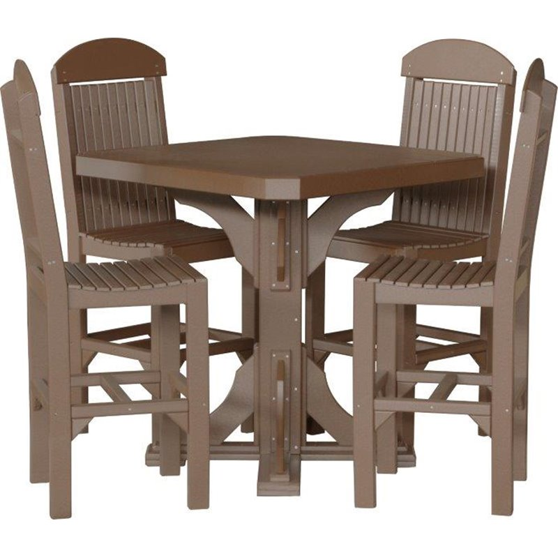 Counter Height Or Regular Dining Table : ... sqr-table-with-4-regular-side-chairs-dining-counter-or-bar-height.jpg