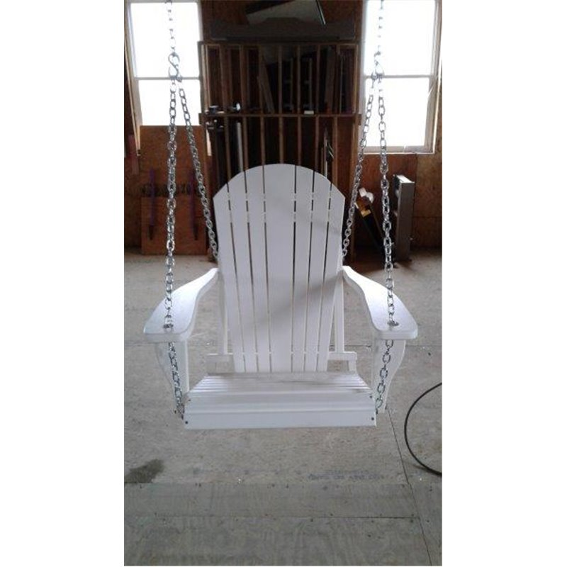 Adirondack Swing Chair With Chains