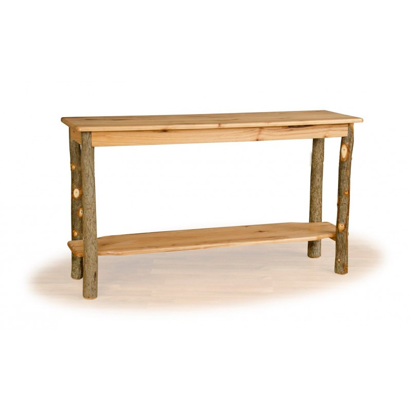 Rustic hickory sofa table Pictures of rustic furniture