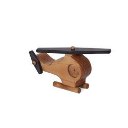 Child's Small Wooden Maple Airplane - Amish Crafted