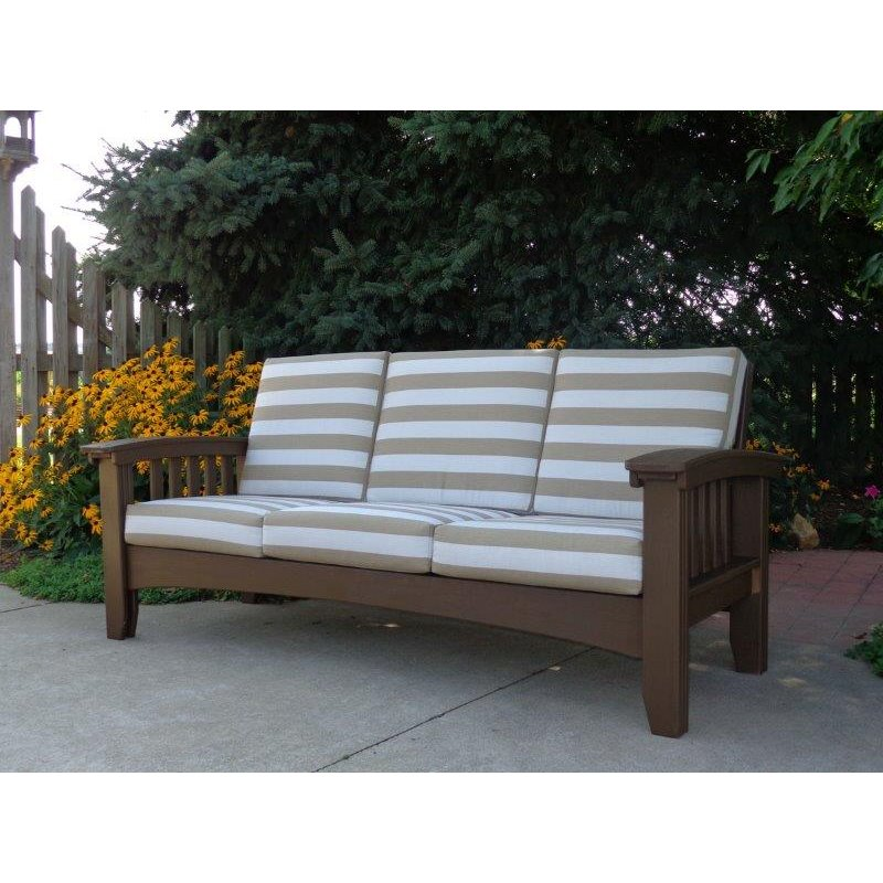 Cypress 6 Piece Outdoor Sofa Set Unfinished Or Painted