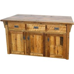 Barn Wood Kitchen Cabinet / Island