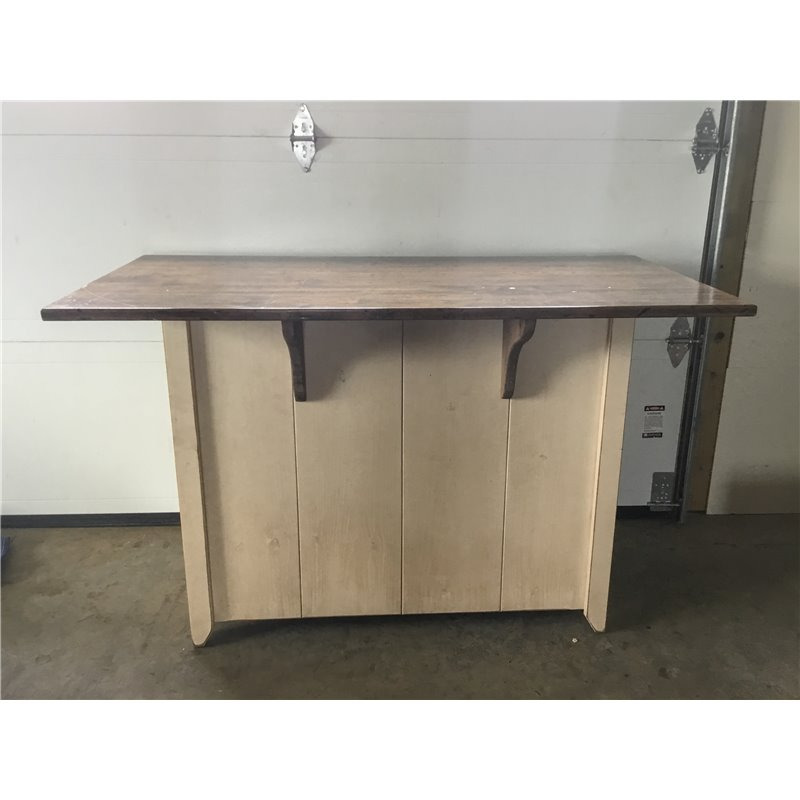 Counter Height Kitchen Island: Primitive Kitchen Island In Counter Height Set