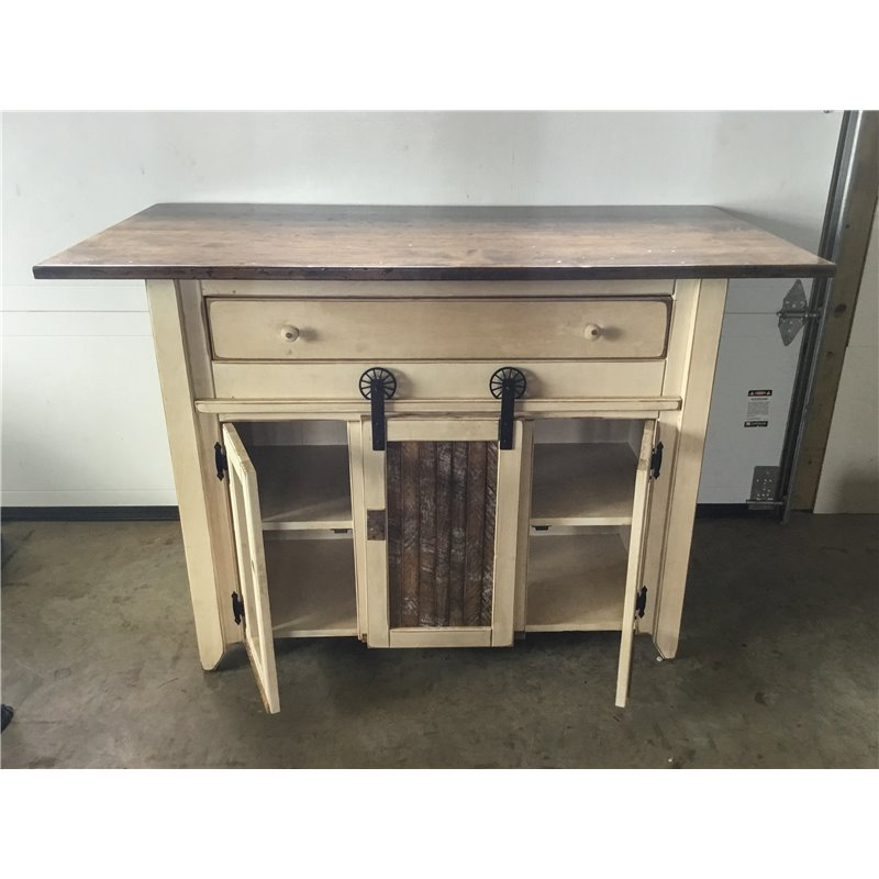 Primitive kitchen island in counter height set 2 sizes for Bar stools for kitchen island