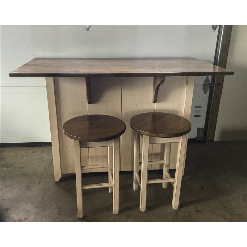 primitive kitchen island in counter height set