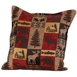 Rustic Accent Pillow - 9 Styles