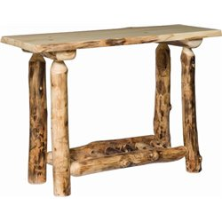 Rustic Aspen Sofa Table