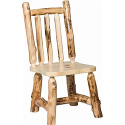 Set of 2 Rustic Aspen Dining Side Chairs