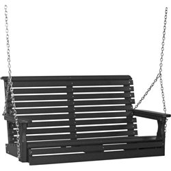 Poly 4 Foot Rollback Outdoor Porch Swing