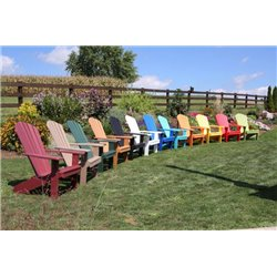 Poly Fan Back Adirondack Chair