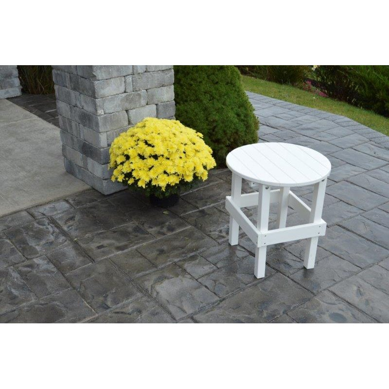 Poly Outdoor Round Side Table