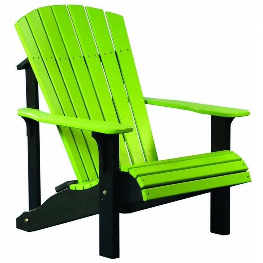Poly Deluxe Adirondack Chair FurniturebarUSA
