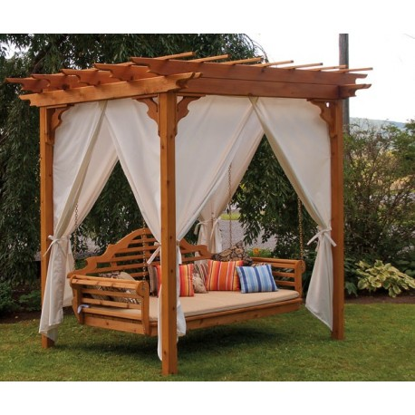 Curtains for 8'X10' pergola - Outdoor Curtains