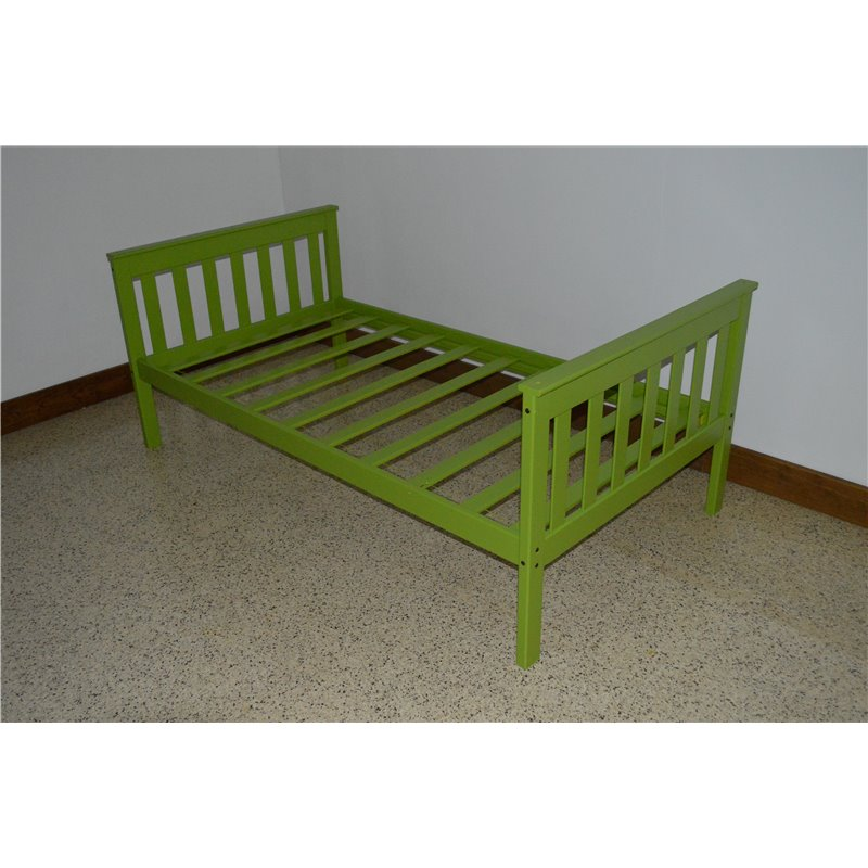Mission style bed frame home furniture store american for Mission style bed frame plans