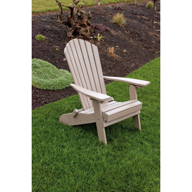 Poly Folding Reclining Adirondack Chair