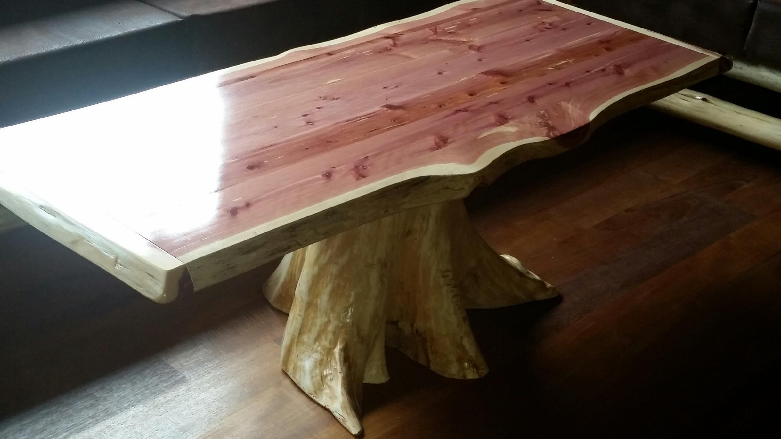 rustic red cedar log furniture