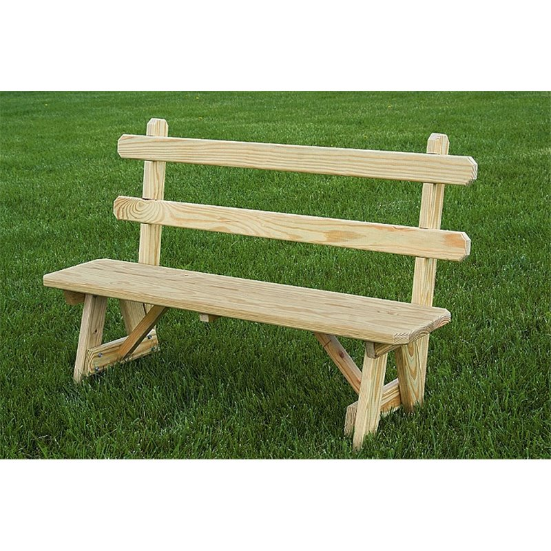 amerihome p outdoor glider bench unfinished benches made cedar amish patio