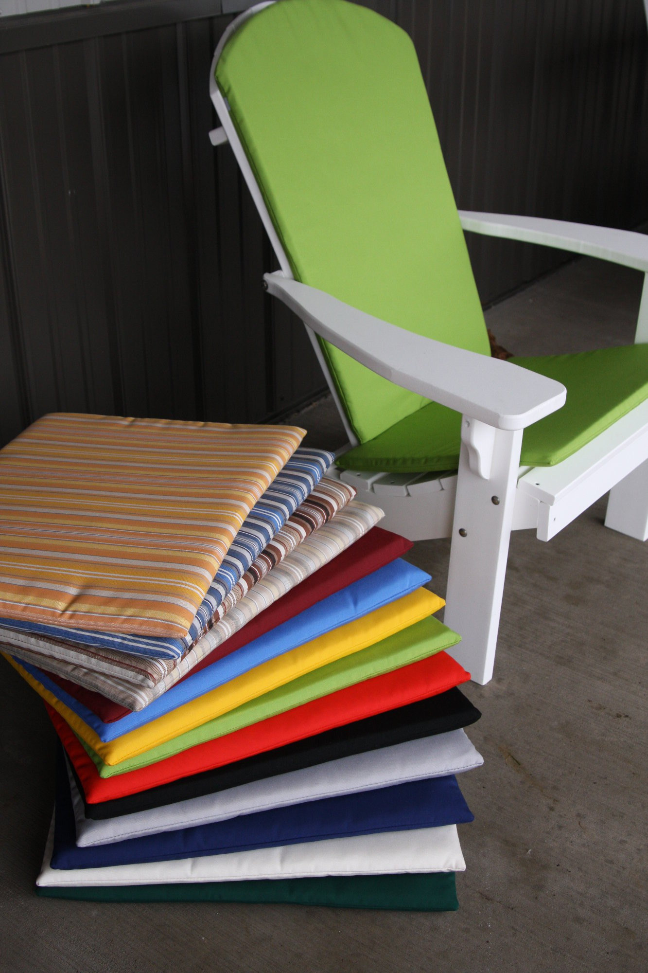 Adirondack Chair Back and Seat Cushion