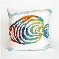 Mulit-Colored Rainbow Fish on Pearl