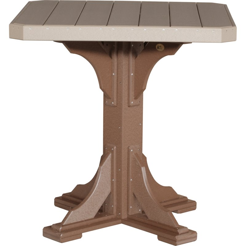 """Poly 41"""" Square Table Set"""