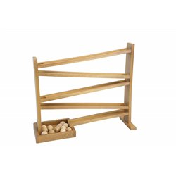 Child's Wooden Ball Roller