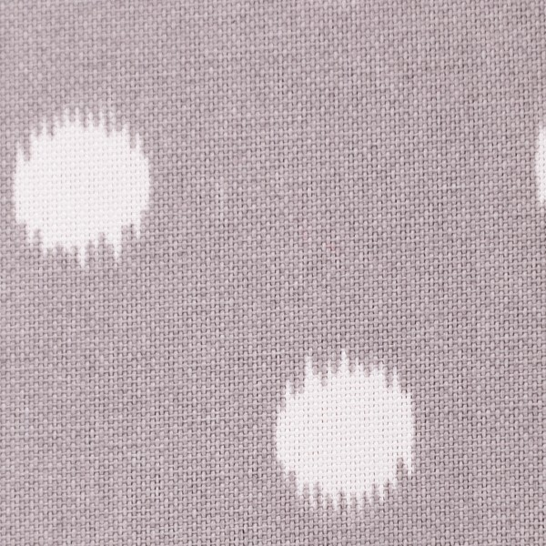 Gray Ikat Dot