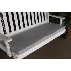 6' Bench / Porch Swing / Glider Outdoor Cushion - Gray