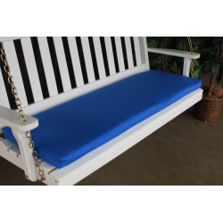 4' Bench / Porch Swing / Glider Outdoor Cushion - Light Blue