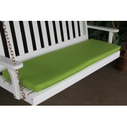 4' Bench / Porch Swing / Glider Outdoor Cushion - Lime Green