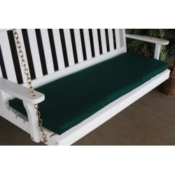 4' Bench / Porch Swing / Glider Outdoor Cushion - Forest Green