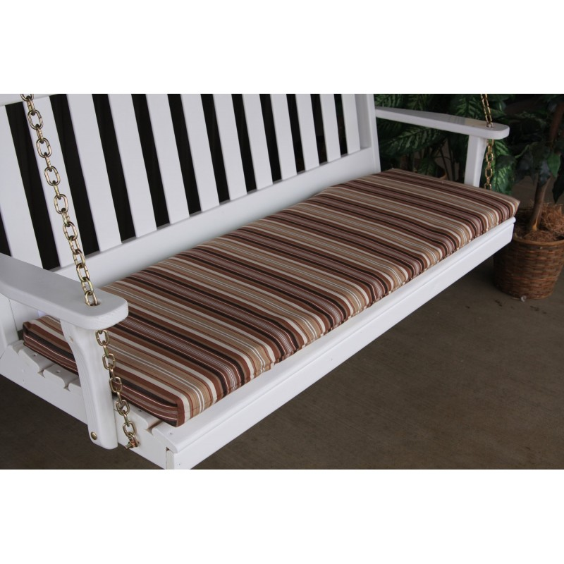 Patio Swing Bench Cushions: 5 Foot Bench/Swing/Glider Cushion