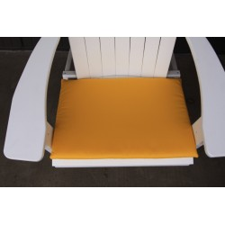 Adirondack Chair Seat Cushion - Yellow