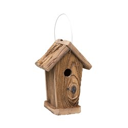 Rustic Barnwood Corn Crib Bird House