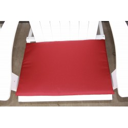 Adirondack Chair Seat Cushion - Burgundy