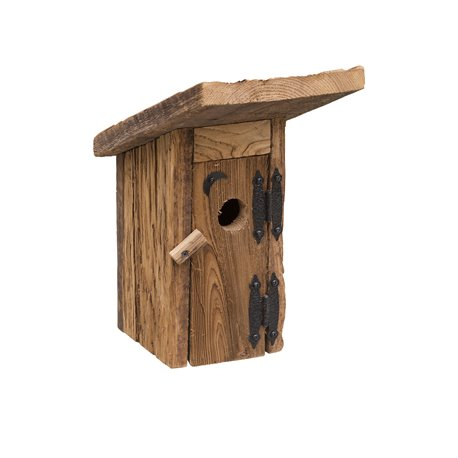 Rustic Barnwood OUTHOUSE Bird House