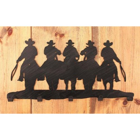 Wrought Iron Wall Mounted Cowboy Coat Hook