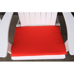 Adirondack Chair Seat Cushion - Red