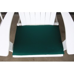Adirondack Chair Seat Cushion - Forest Green