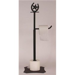 Wrought Iron Horseshoe / Star Collection - Toilet Paper Holders