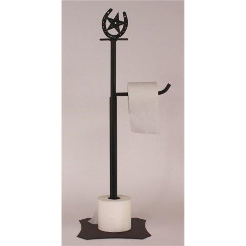 Wrought Iron Horseshoe Star Collection Toilet Paper