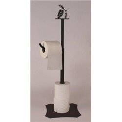 Wrought Iron Pine Cone Collection - Toilet Paper Holders