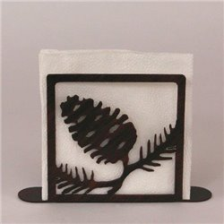 Wrought Iron Pine Cone Collection - Paper Towel / Napkin Holders